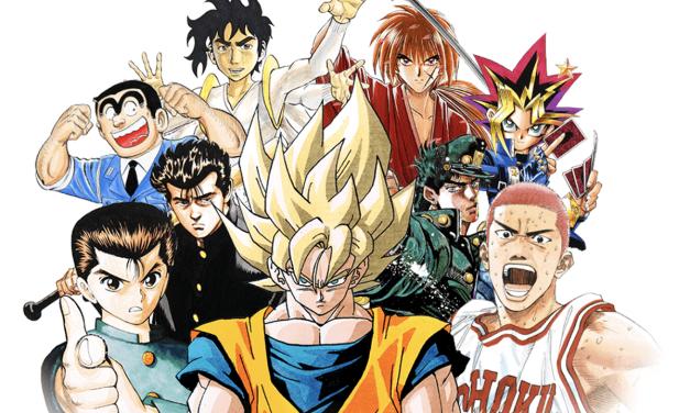 50 años de historia en la portada de la Shonen Jump
